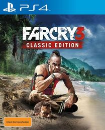 Far Cry 3 Classic Edition PS4 kansikuva