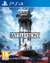 Star Wars Battlefront PS4 kansikuva