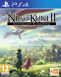Ni No Kuni II Revenant Kingdom PS4 kansikuva