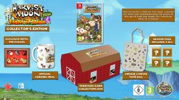 Harvest Moon Light of Hope Collectors Edition Switch