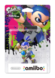 amiibo Splatoon Collection Inkling Boy hahmo