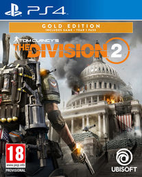 Tom Clancy´s The Division 2 Gold Edition PS4 kansikuva