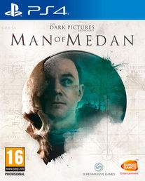The Dark Pictures: Man of Medan PS4 kansi