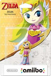 amiibo The Legend of Zelda 30th Anniversary Collection The Wind Waker Zelda hahmo