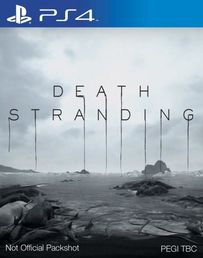 Death Stranding PS4 kansikuva