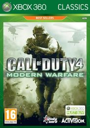 Call of Duty 4: Modern Warfare Classics Xbox 360
