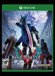 Devil May Cry 5 Xbox One kansikuva
