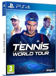 Tennis World Tour PS4 kansikuva