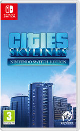 Cities Skylines Nintendo Switch Edition Switch kansikuva