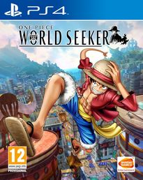One Piece World Seeker PS4 kansikuva