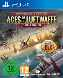 Aces of the Luftwaffe - Squadron Extended Edition PS4 kansikuva