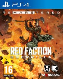 Red Faction Guerrilla Re-Mars-tered PS4 kansikuva