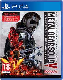 Metal Gear Solid V: Definitive Experience PS4 kansikuva