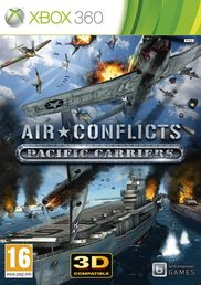 Air Conflicts Pacific Carriers Xbox 360 kansikuva