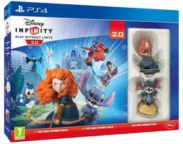 Disney Infinity 2.0 Toy Box Combo Pack PS4