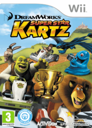 Dreamworks Super Star Kartz Wii