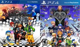 Kingdom Hearts HD 1.5 + 2.5 Remix PS4 kansikuvat
