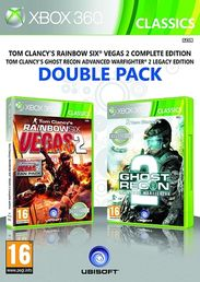 Rainbow Six Vegas 2 Complete + Ghost Recon Advance Warfighter 2 Double Pack Xbox 360