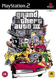 Grand Theft Auto 3 Platinum PS2