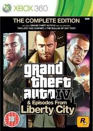 Grand Theft Auto IV: Episodes from Liberty City Xbox 360