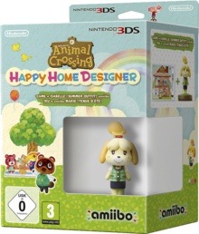 Animal Crossing Happy Home Designer + Isabelle Summer Outfit Hahmo