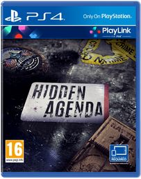 Hidden Agenda PS4 kansikuva