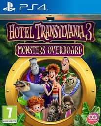 Hotel Transylvania 3: Monsters Overboard PS4 kansikuva