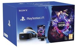 Playstation VR2 bundle, mukana kamera(v2) ja VR Worlds