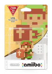 amiibo The Legend of Zelda 30th Anniversary Collection 8 Bit Link hahmo