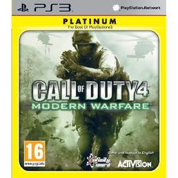 Call of Duty 4: Modern Warfare Platinum PS3