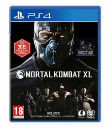 Mortal Kombat XL PS4 kansikuva