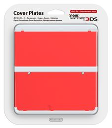 New Nintendo 3DS Cover Plate Red