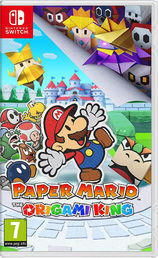 Paper Mario Origami King Switch