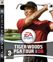 Tiger Woods PGA Tour 08 PS3