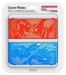 New Nintendo 3DS cover plate Pokemon