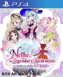 Nelke and the Legendary Alchemists: Ateliers of the New World PS4 kansikuva