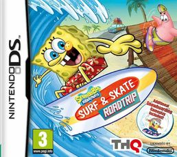 Spongebob Surf & Skate Roadtrip Nintendo DS