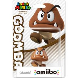 amiibo Goomba Super Mario Collection hahmo