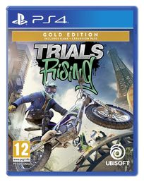 Trials Rising Gold Edition PS4 kansikuva