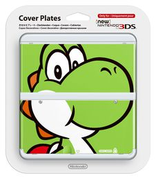 New Nintendo 3DS cover plate Yoshi