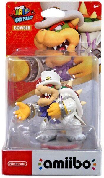 Amiibo Bowser Wedding Suit Super Mario Collection Hahmo