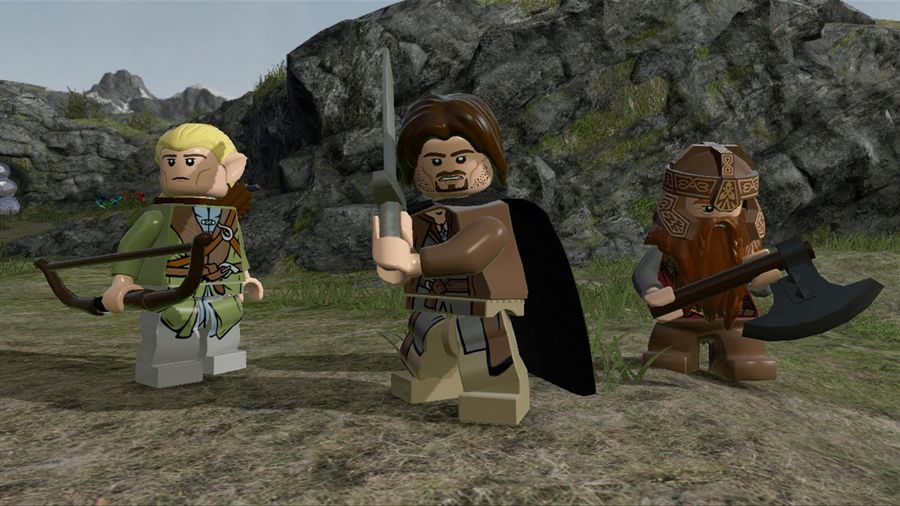 lego lord of the rings player 2 dropout
